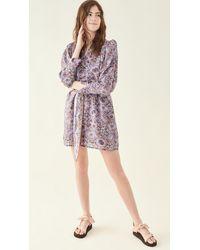 Chufy Ma Short Dress - Purple