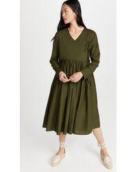 Merlette Collier Dress - Green