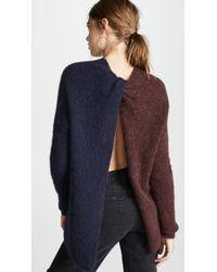 Nicholas - Alpaca Tunic Pullover Jumper - Lyst