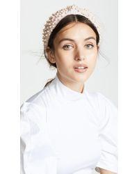 Lele Sadoughi - Imitation Pearl Headband - Lyst