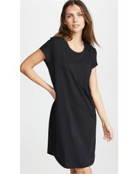 Skin Oksana Sleep Shirt - Black