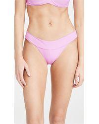 L*Space L*space Veronica Bikini Bottoms - Purple