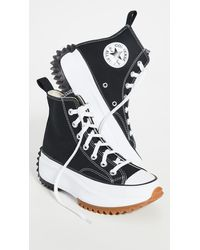 Converse Run Star Hike Hi Sneakers - Black
