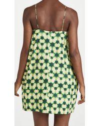 AMUR Jendayi Mini Dress - Green