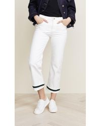 Carven - Flared Cuff Jeans - Lyst