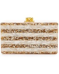 Edie Parker - Jean Striped Clutch - Lyst