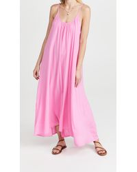 9seed Tulum Cover Up Dress - Pink