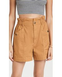 Madewell Paperbag Shorts - Multicolour