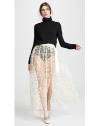 Rachel Comey Fetes Belt Skirt - White
