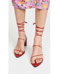 Reike Nen Odd Pair Sandals - Red