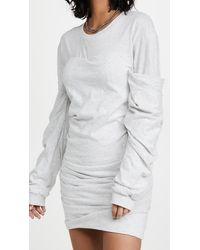 RTA Indya Dress - Grey