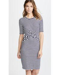 Three Dots - Nantucket Stripe Dress - Lyst