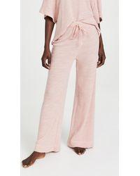 Honeydew Intimates Leisure Lover Irish Terry Lounge Pants - Pink