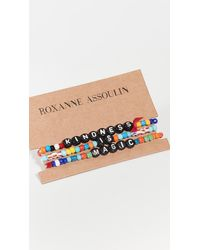 Roxanne Assoulin Kindness Is Magic Camp Bracelets - Multicolor