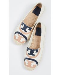 Tory Burch Poppy Espadrilles - Blue