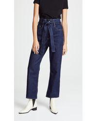 3x1 - Kelly Paper Bag Jeans - Lyst
