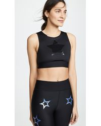 Ultracor Level Knockout Crop Top - Black