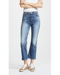 3x1 - W5 Empire Crop Bell Jeans - Lyst