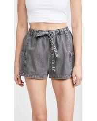 BB Dakota California Girls Shorts - Black
