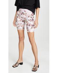 For Love & Lemons Tiffany Bike Shorts - Pink
