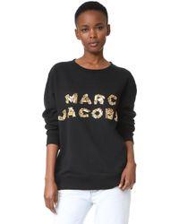Marc Jacobs - Oversized Logo Sweatshirt - Lyst