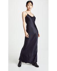 Nili Lotan Cami Gown - Blue