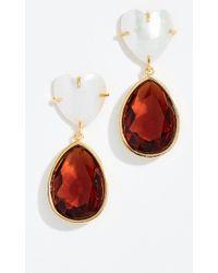 Lizzie Fortunato - Drop Earrings - Lyst