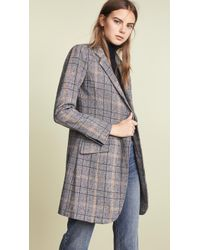Laveer - Long Sharp Jacket - Lyst