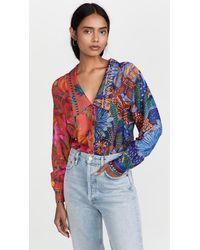 FARM Rio Mixed Prints Shirt - Multicolour