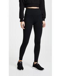 Beyond Yoga - Core High Waisted Midi Leggings - Lyst