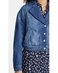 Free People Now Or Never Denim Jacket - Blue