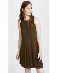 Three Dots - Vintage Jersey Swing Dress - Lyst