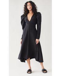 Ellery The Great Puff Dress - Black