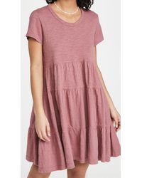 Wilt - Tiered Trapeze Dress - Lyst