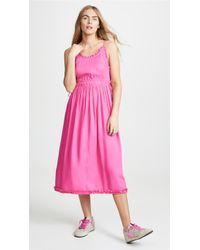 Scotch & Soda Midi Dress - Pink