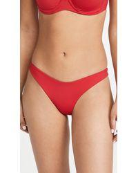 L*Space L*space Cabana Bitsy Bikini Bottoms - Red