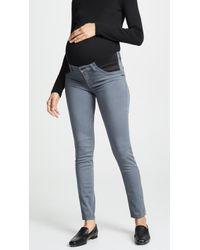 J Brand - Mama J Maternity Capri Jeans - Lyst