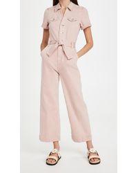 PAIGE Anessa Jumpsuit - Pink