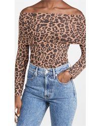 LNA Brushed Leopard Blake Jumper - Multicolour