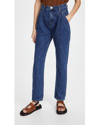 One Teaspoon Dakota Streetwalkers High Waist 80s Fit Jeans - Blue