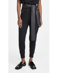 3.1 Phillip Lim French Terry Joggers - Black
