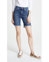 Joe's Jeans - High Rise Honey Bermuda Shorts - Lyst