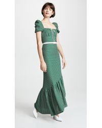 Hellessy Helen Dress - Green