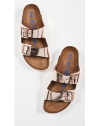 Birkenstock Arizona Soft Sandals - Narrow - Multicolour
