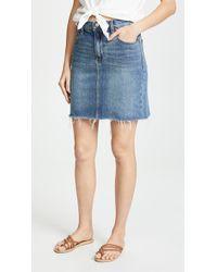 Hudson Jeans Lulu Skirt - Blue
