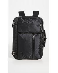 Master Piece Lightning Backpack Briefcase - Black
