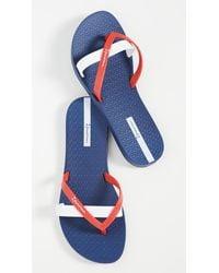 Ipanema Kirei Flip Flops - Blue