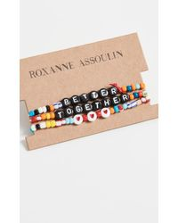 Roxanne Assoulin - Camp Bracelets - Do It With Love - Lyst