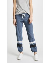Monrow - Vintage Joggers With Stripes - Lyst