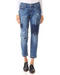 10 Crosby Derek Lam - Mila Mid Rise Slim Boyfriend Jeans - Lyst